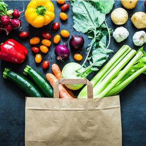 Gemüse- und Früchteboxen